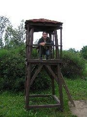 1.7.2009 Rozhledna Minibarborka v blízkosti skutečné Barborky [autor: Eva Kohlíčková]