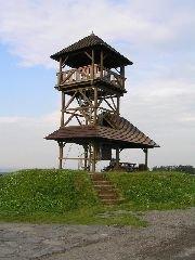 2.7.2009 Rozhledna Boiika u Českých Lhotic [autor: Eva Kohlíčková]