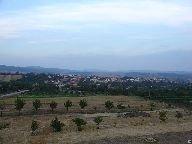 Výhled z mlýna (rozhledny) na Kyjov [autor: Pavel Rotrekl]