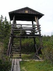26.8.2004 Rozhledna Černohorské rašeliniště v Krkonoších [autor: Eva Kohlíčková]