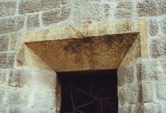 2000 Nápis nad vchodem do rozhledny [autor: Pavel Vondrášek]