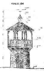Návrh na opravu rozhledny vypracovaný v 90. letech 20. stol. firmou Vertikál Chrudim pro OS Altus