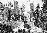 Historická pohlednice hradu