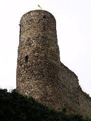 30.9.2009 Rozhledna na hradě Helfenburk u Bavorova [autor: Pavel Vondrášek]