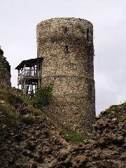 30.9.2009 Druhá vyhlídková věž na hradě [autor: Pavel Vondrášek]