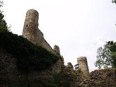 30.9.2009 Obě vyhlídkové věže na hradě [autor: Pavel Vondrášek]