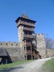 18.4.2010 Rozhledna na hradě Helfštýn u Lipníku nad Bečvou [autor: Radek Ševčík]