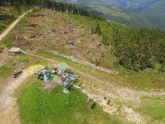 10.8.2009 Horní stanice lanovky na Hnědý vrch [autor: Pavel Vondrášek]