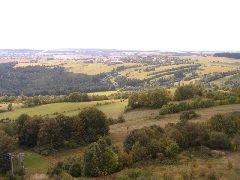 15.9.2007 Výhled z rozhledny směrem na Bystřici nad Pernštejnem [autor: Radek Ševčík]