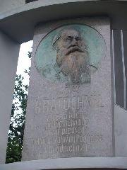 13.9.2009 Pamětní deska Václava Kratochvíla [autor: Zdeněk Kohlíček]