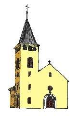 Kresba rozhledny Křížový vrch u Stodu [autor: Pavel Vondrášek]