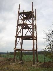 25.10.2009 Stavba rozhledny [autor: Pavel Vondrášek]