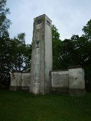14.5.2008 Památník s rozhlednou Mandava u Sulic [autor: Pavel Vondrášek]