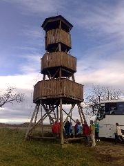 13.11.2010 Rozhledna Modrá u Uherského Hradiště [autor: Eva Vondrášková st.]
