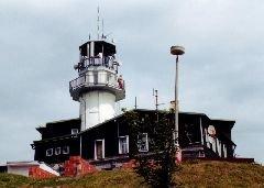 Horský hotel s rozhlednou Plešivec u Abertam [autor: Eva Vondrášková st.]