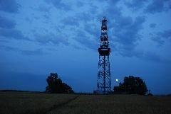 3.7.2012 Rozhledna Rovnina u Uherského Hradiště večer [autor: Petr Kohl]