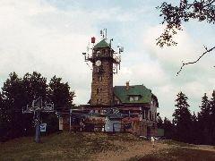 Chata s rozhlednou Tanvaldský Špičák u Tanvaldu [autor: Eva Vondrášková st.]