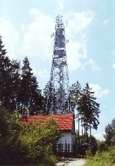 Rozhledna Tobiášův vrch u Jesenice [autor: Eva Vondrášková st.]