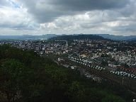 Výhled z rozhledny na Ústí nad Labem [autor: Pavel Rotrekl]