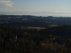 1.11.2008  Pohled na Alpy [autor: Pavel Vondrášek]