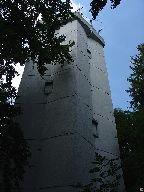 Měřičská věž v blízkosti vrcholu [autor: Pavel Rotrekl]