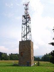 2.7.2009 Rozhledna Zuberský kopec u Trhové Kamenice [autor: Pavel Vondrášek]